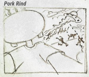 Pork Rind Cartoons